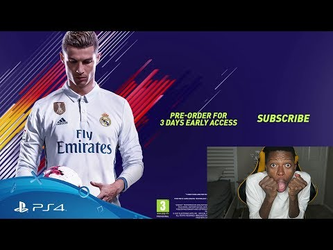 NEW FIFA 18 OFFICIAL RONALDO TRAILER (First Reaction)