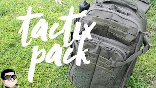 The Perfect Bug Out Bag by First Tactical!!