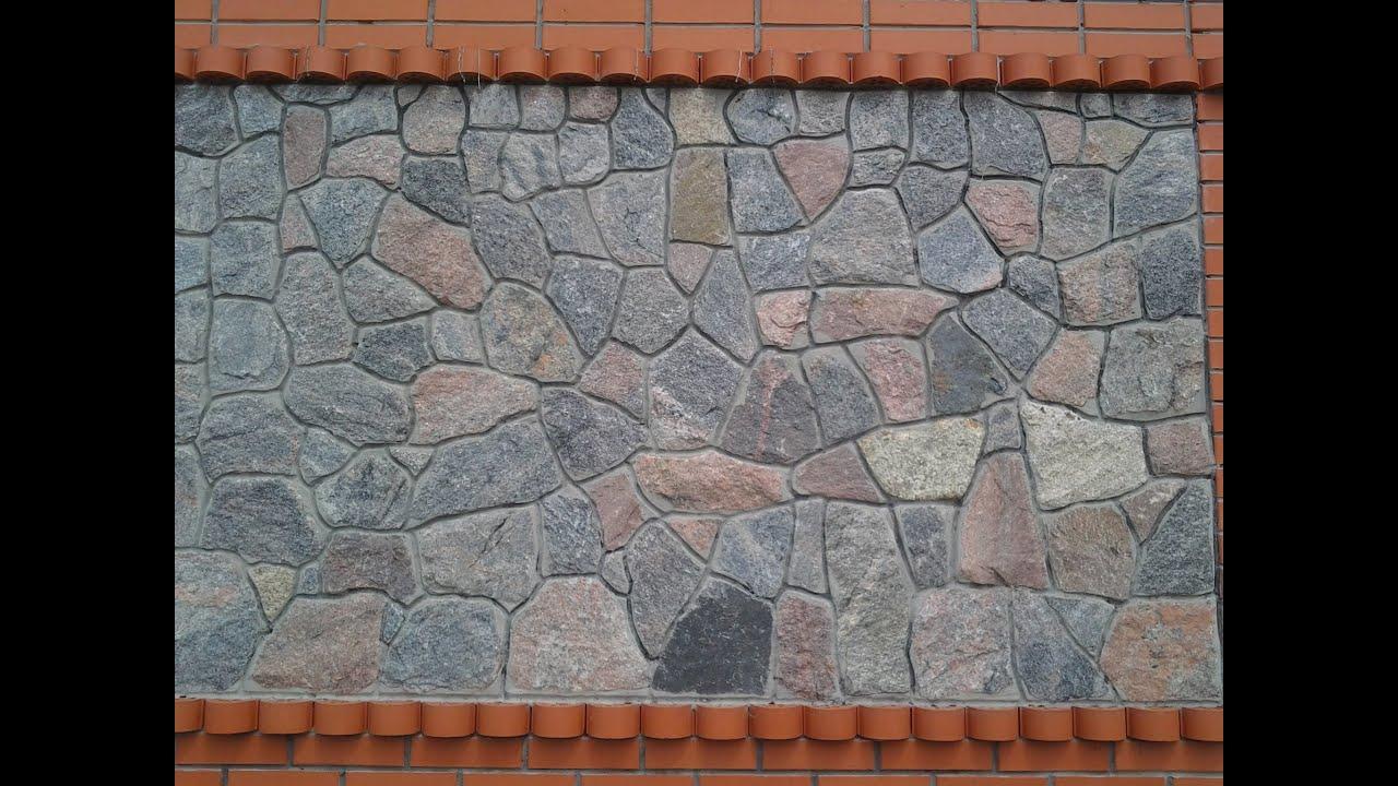 Кладка дикого камня своими руками фото