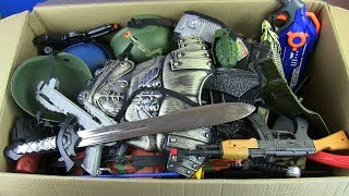 BOX OF TOYS ! Military & Police Toys for kids