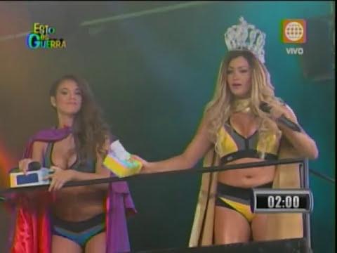 Esto es Guerra: Jazmín se molesta por piropo de Michelle a Gino - 27/08/2013