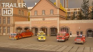 William Watermore the Fire Truck - Trailer 2 -  Real City Heroes (RCH)   Videos For Children