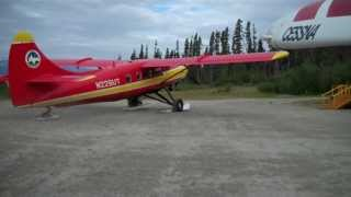 Alaska Flying: Paul Claus lands his Turbine Otter at his Ultima Thule Lodge Airstrip