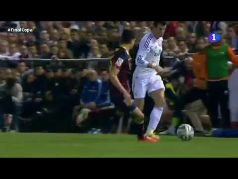 El GOLAZO de Bale en la final de Copa del Rey (FC Barcelona 1 - Real Madrid 2)