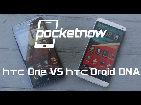 HTC One vs HTC Droid DNA