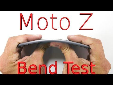 Moto Z im Bendtest: So stabil ist das dünnste Flaggschiff-Smartphone