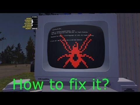 Poradnik (inne) #3 [Jak Naprawić Komputer W My Summer Car (How To Fix Computer In MSC)]