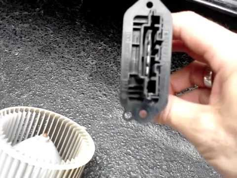 How to remove Mazda 3 Blower motor and Resistor explained