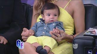 ¡Primicia! Alejandra Espinoza presentó a Matteo por primera vez ante las cámaras