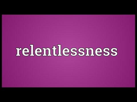 Header of relentlessness