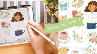 draw with me! ✏️✨ how i use procreate