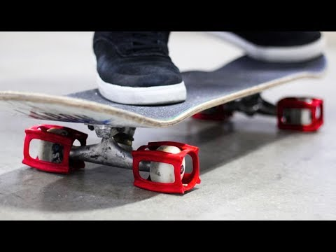 HOW TO KICKFLIP THE EASIEST WAY WITH SKATER TRAINERS
