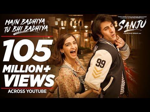 Main Badhiya Tu Bhi Badhiya Video | Ranbir Kapoor | Sonam Kapoor | Sonu Nigam | Sunidhi Chauhan