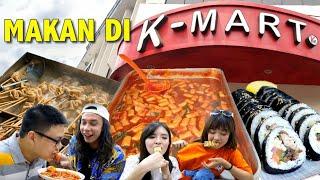 KOREAN STREET FOOD Di K-MART SUPERMARKET !! BERASA DI KOREA !! ( ft Gerry Girianza )