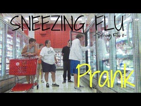 SNEEZING FLU PRANK (JStuStudios)