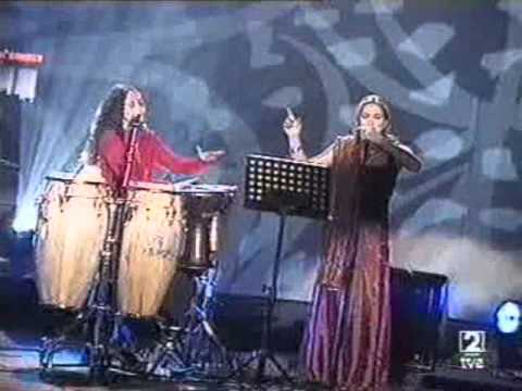 Noa (Achinoam Nini) -&Marina Heredia- I don't know (TVE - Septimo) 2000