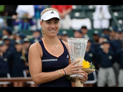 2015 Family Circle Cup Final WTA Highlights | Angelique Kerber vs Madison Keys