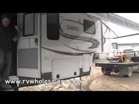 2013 Sabre 32RCTS Fifth Wheel Camper at RVWholesalers.com 007504 - Greystone