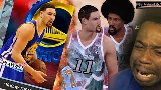 DIAMOND KLAY DEBUT! VS DIAMOND STACKED SQUAD! NBA 2k16 MyTeam Gameplay