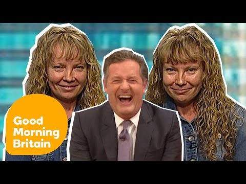 Piers Morgan Can't Stop Laughing While Talking To Super Identical Twins | Good Morning Britain