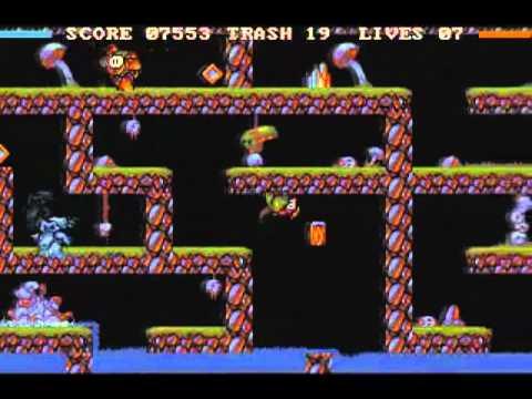 Flood - Amiga gameplay