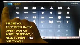 DON'T MAKE THE SWITCH TO SLING TV UNTIL YOU SEE THIS!