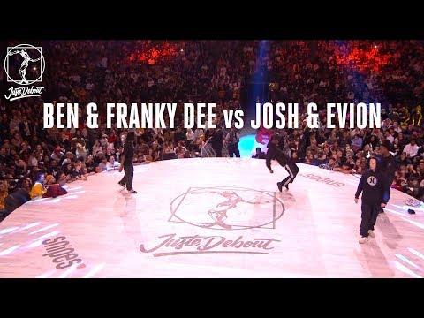 Hip Hop battle : Ben & Franky Dee vs Josh & Evion