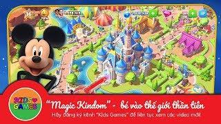 Bé lạc vào thế giới cổ tích cùng chuột Mickey - Kids Games
