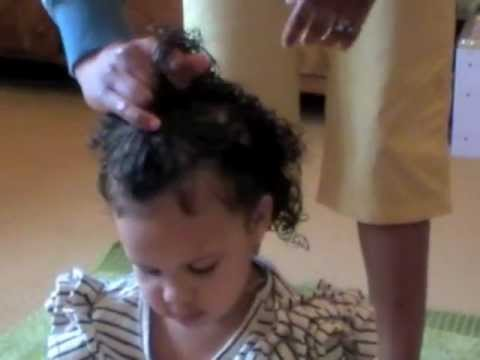 Styling Mixed Race Curly Kids Hair with Original Sprout