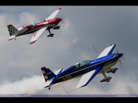 Amazing Flying: Full-Size plus Model Extra Duo: Shoreham 2014