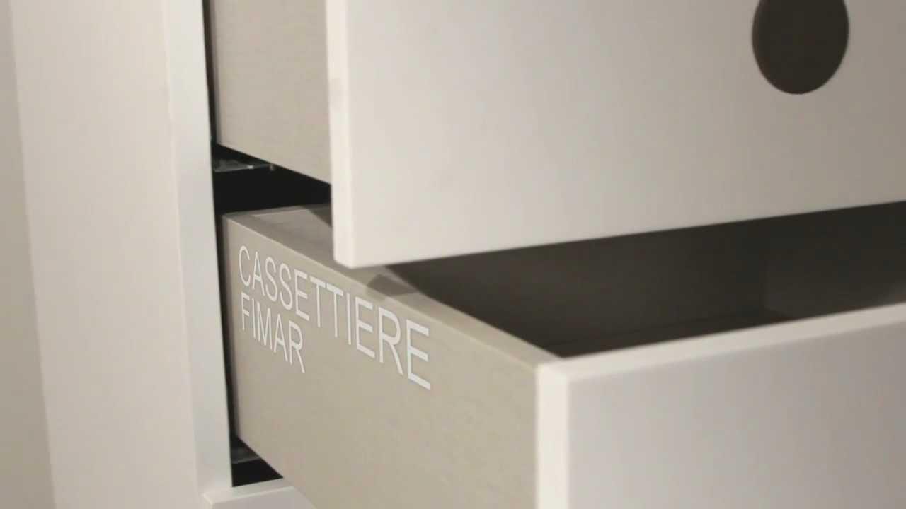 Fimar tecnologia cassetti cassettiere moderne - Cassettiere camera letto ...
