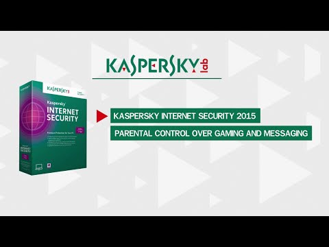Parental control: how to limit time spent playing games in Kaspersky Internet Security 2015