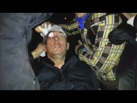 Former government minister injured in fresh Ukraine violence