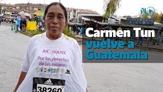 Carmen Tun Vuelve a Guatemala | Prensa Libre