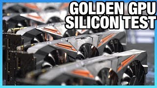 GPU Silicon Quality & Overclock Lottery Test: Golden GPU Search