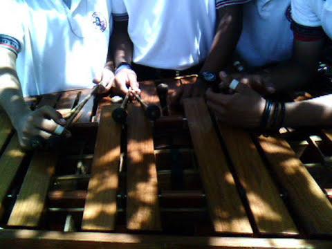 Presentacion de la Marimba de la Demetrio Vallejo en Matias Romero Oaxaca
