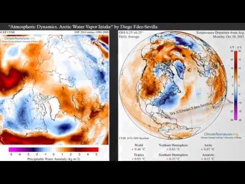 Water Vapour Intake in the Arctic by Diego Fdez Sevilla