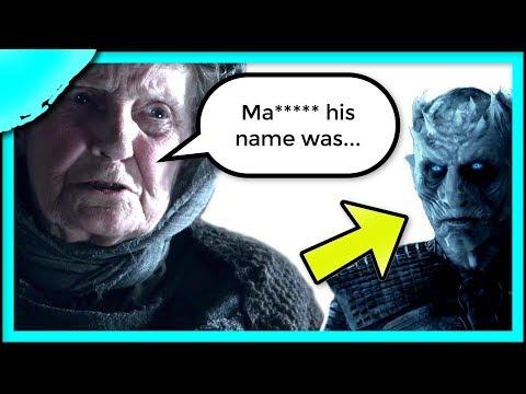 George R.R. Martin's Night King Secret Exposed   Game of Thrones Season 8 Theories