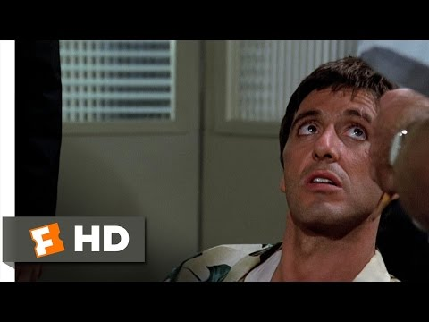 Scarface (1/8) Movie CLIP - Political Prisoner (1983) HD
