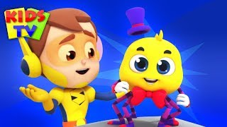 The Itsy Bitsy Spider | The Supremes Nursery Rhymes & Baby Songs