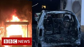 Far-right violence: Berlin district targeted - BBC News