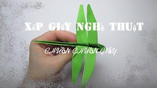 Cách xếp chuồn chuồn giấy đơn giản
