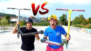 EXTREME GAME OF SCOOT! Benj Friant VS Claudius Vertesi