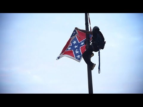 """""""This Flag Comes Down Today"""": Bree Newsome Scales SC Capitol Flagpole to Remove a Symbol of Hate"""