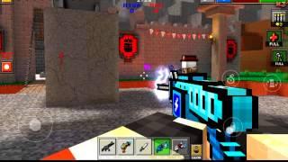 Pixel gun 3d как сделать цветной ник