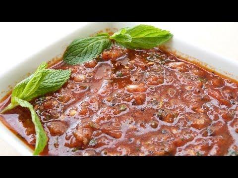 Эзме - традиционная турецкая закуска рецепт