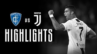 HIGHLIGHTS: Empoli vs Juventus - 1-2 | CR7 at the double