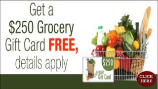 ****** $250 Grocery Gift Card