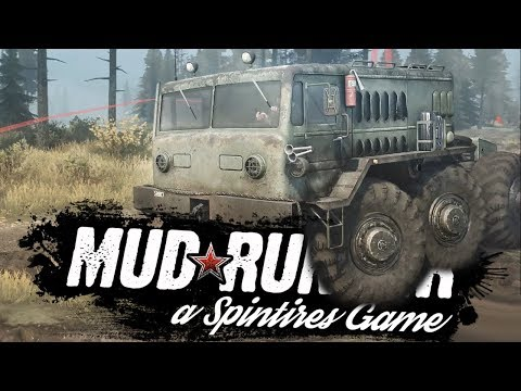 Spintires: MudRunner - МЕСИМ ГРЯЗЬ НА ВЕБКУ