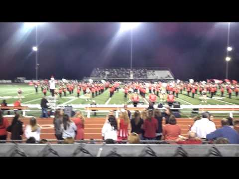 Russellville Ar High School Band on Sr. Night!